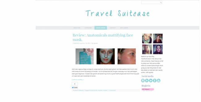 Mijn eerste gemaakte layout staat online