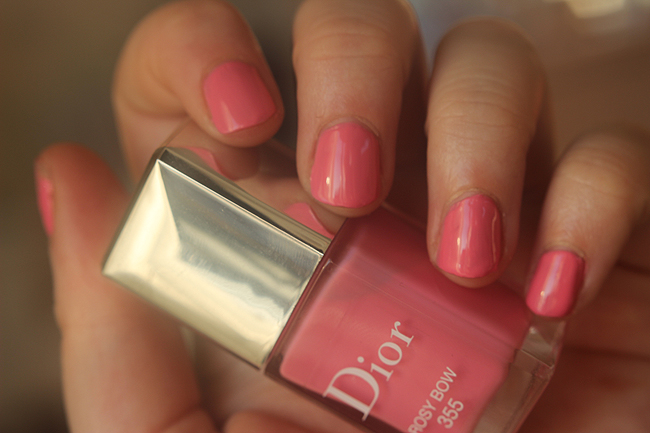 dior rosy bow