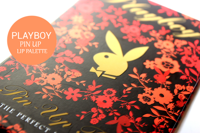 Playboy Pin Up Pout lip palette