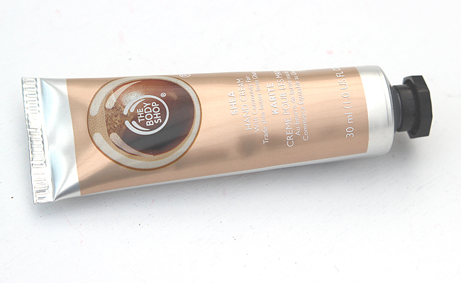 the body shop shea butter hand cream