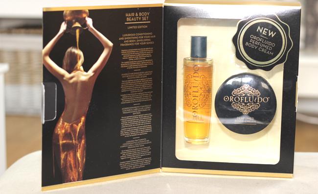 orofluido beauty elixir perfumed body cream