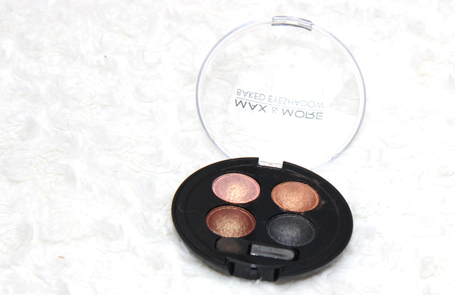 Review | Action baked eyeshadow Max & More Ombre Bronze