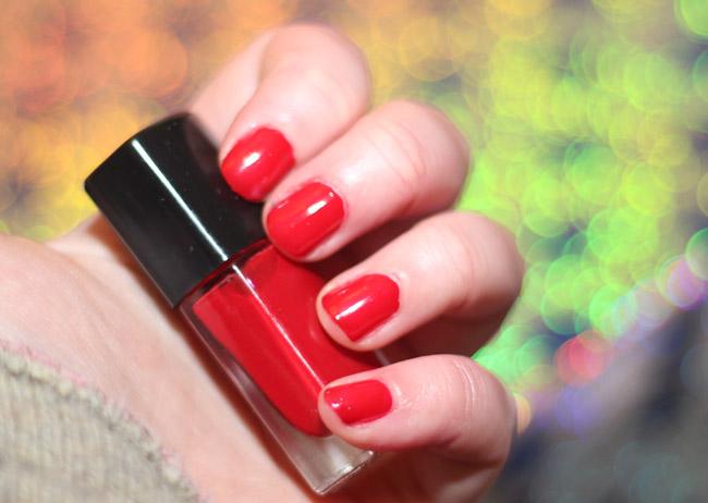 action nagellak columbian red