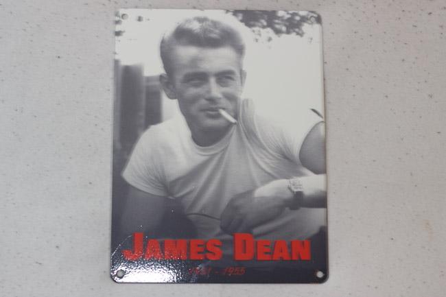 vintage bordjes james dean
