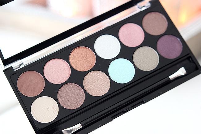 mua springbreak eyeshadow palette