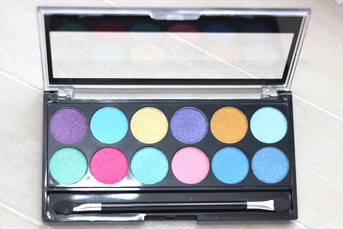 MUA Poptastic eyeshadow palette