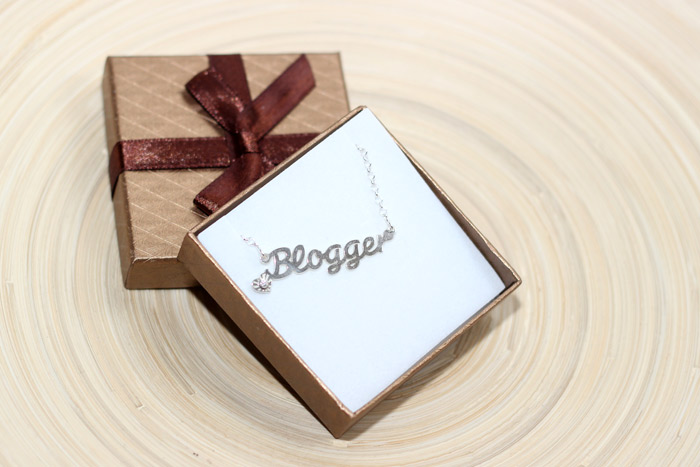 Blogger naamketting