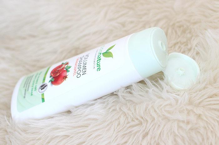 cosnature volume shampoo granaatappel