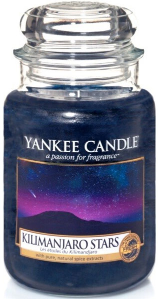 yankee candle herfst kilimanjaro stars