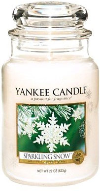 yankee candle herfst sparkling snow