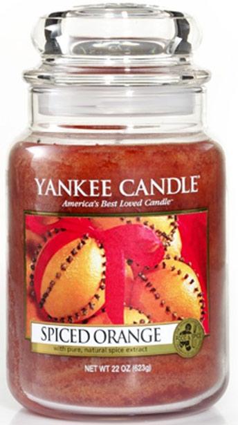 yankee candle herfst spiced orange