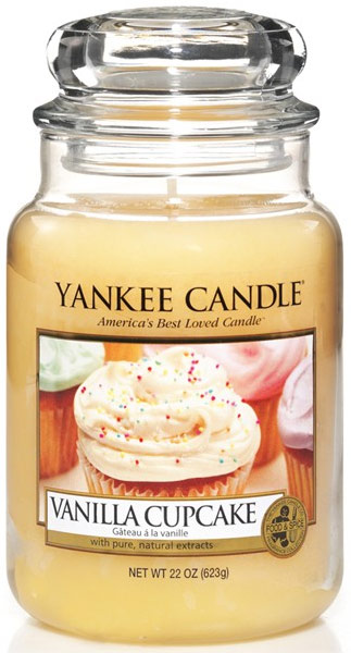 yankee candle herfst vanilla cupcake