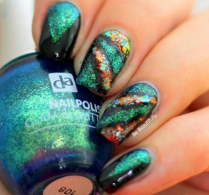 nail art tutorial new years eve doormariska