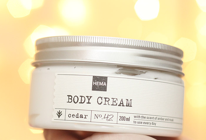 hema cedar body cream shower gel hand cream