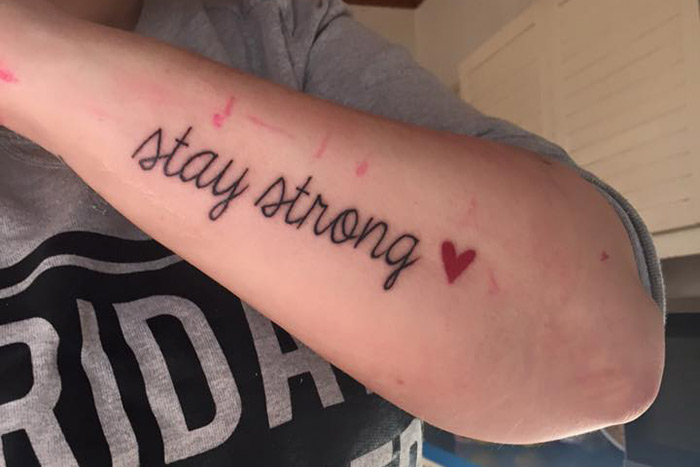 tattoo stay strong
