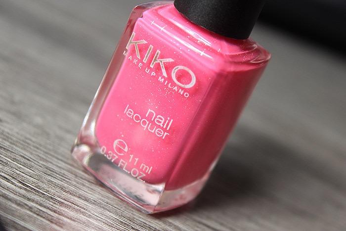 kiko pearly glaze pink