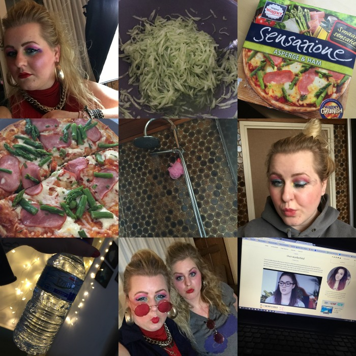 Diary 21 februari 2016 (pizza, foute party & youtube)