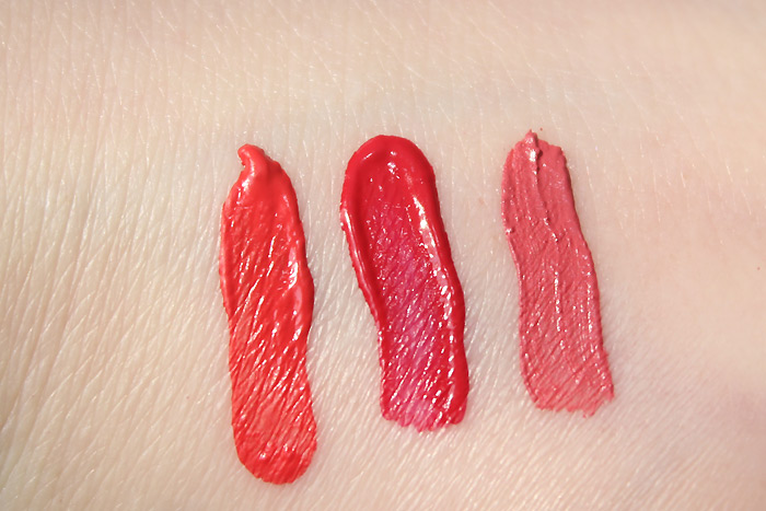 l.a. girl matte pigment gloss swatches