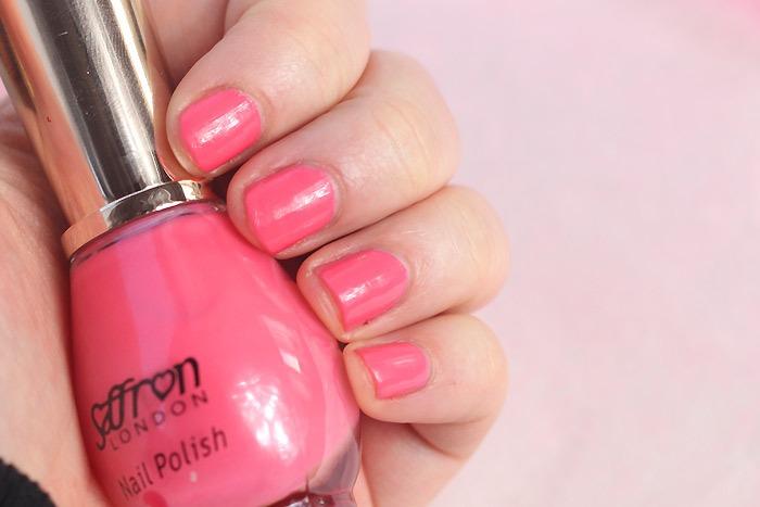saffron silk pink