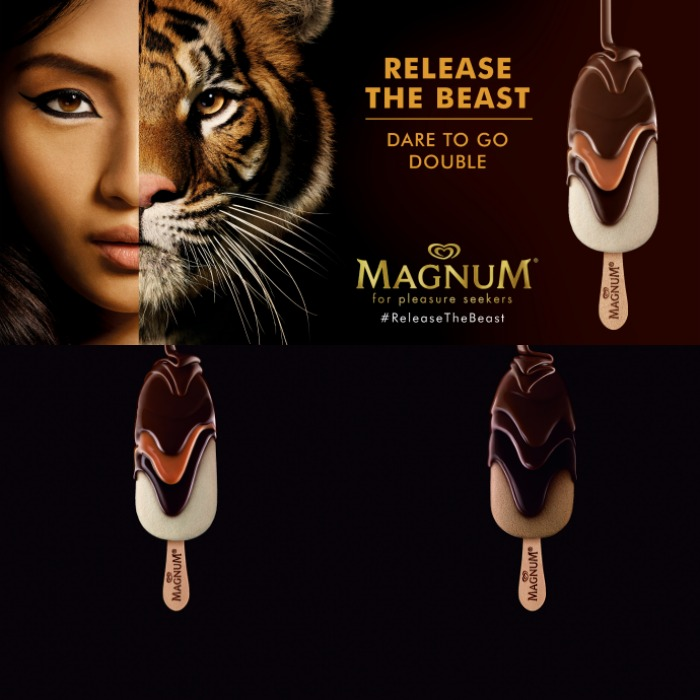 magnum double kendall jenner