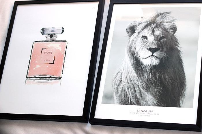 desenio poster leeuw parfum