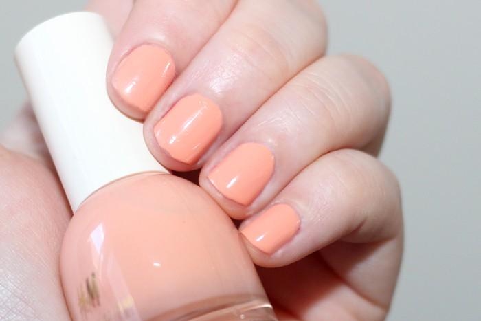 h&m peach creamsicle