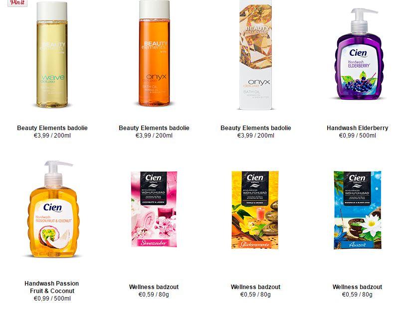 lidl beauty bad producten