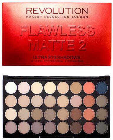makeup revolution flawless matte 2 palette