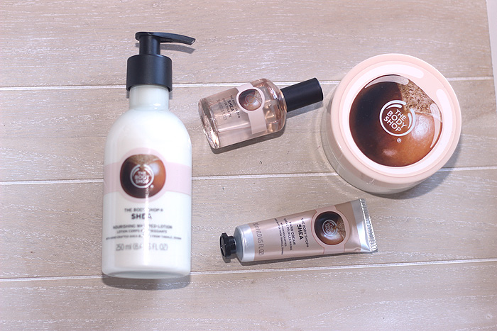 the body shop shea bestelling