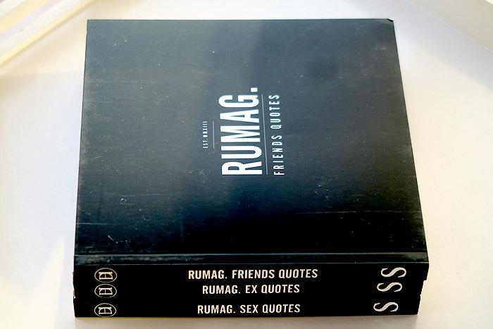 rumag quotes bundels sex ex friends