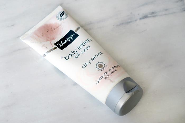 kneipp silky secret body lotion