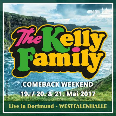kelly family in westfalenhalle