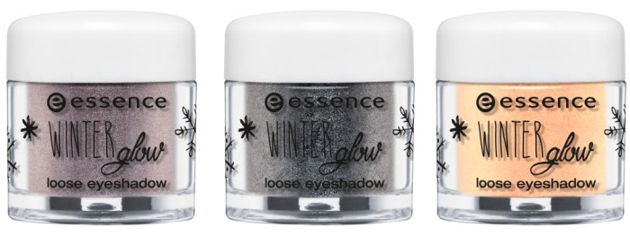essence winter glow loose eyeshadow