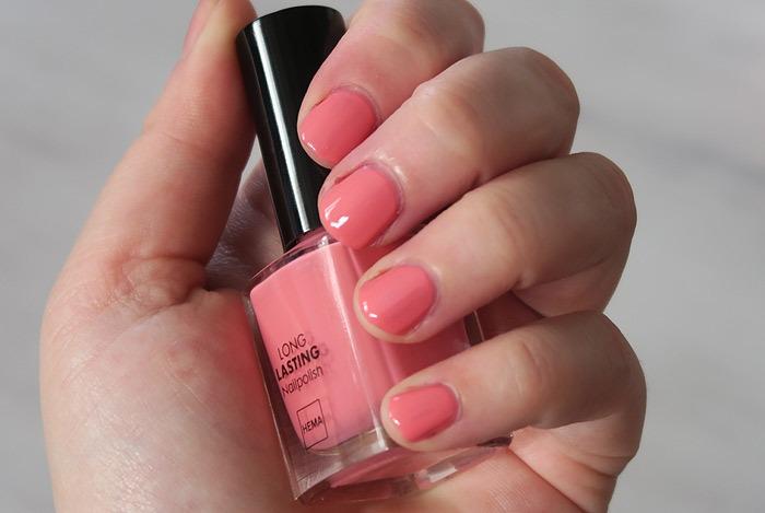 hema nagellak pink princess