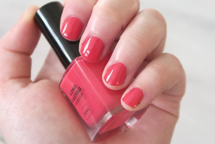 hema nagellak playful pink
