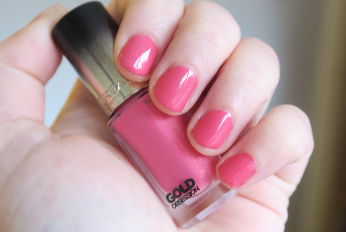 loreal gold obsession rose gold