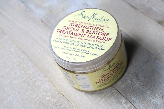 shea moisture hair mask