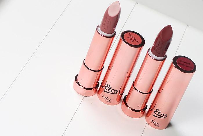 etos rosegold makeup lipstick