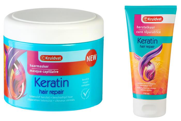 kruidvat keratin hair repair