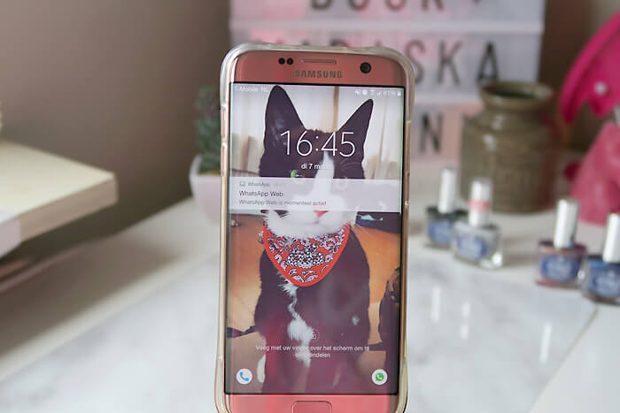 samsung galaxy s7 edge rose pink