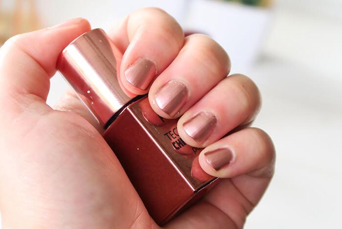 p2 techno chrome polish bronze cut