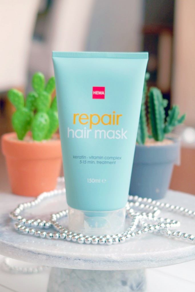 Hema repair hair mask, reparerend haarmasker