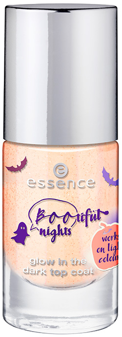 essence bootiful nights glow in the dark top coat