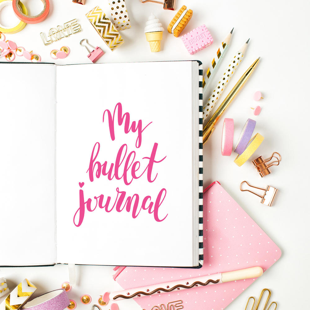 4x leuke bullet journal