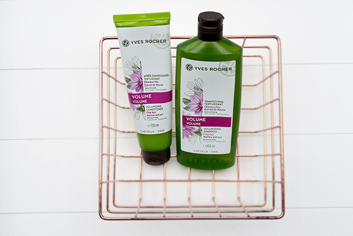yves rocher volume shampoo & conditioner