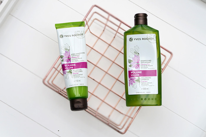 Yves Rocher volume shampoo en conditioner