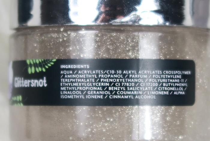 believe'in unicorns glittersnot ingredienten