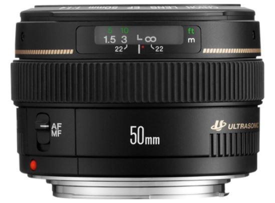 Canon 50mm lens f1.4