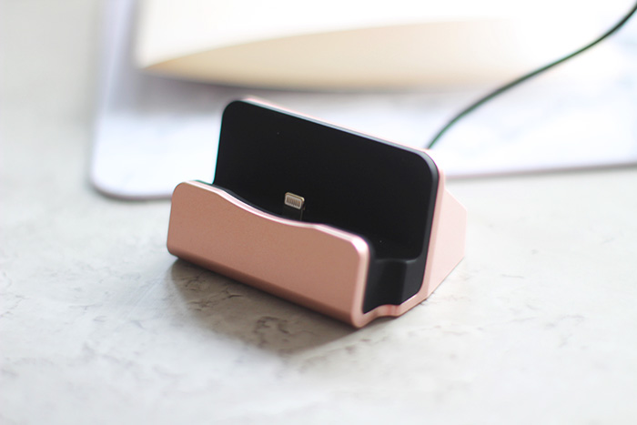 aliexpress iphone oplader rose goud