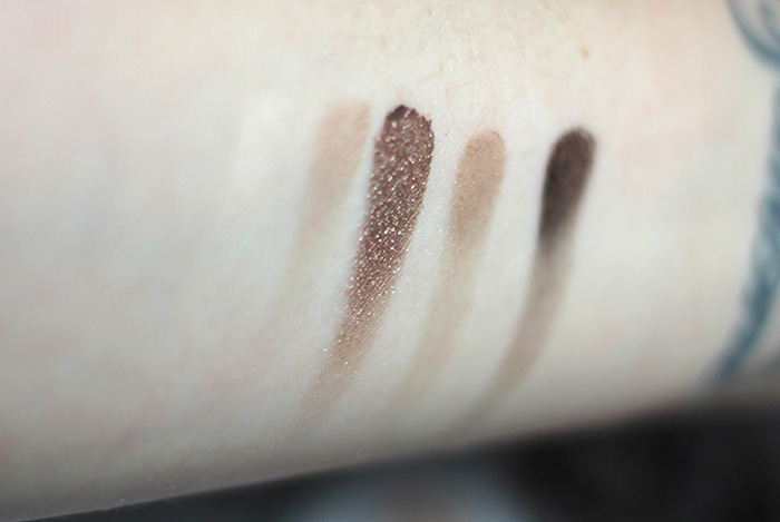 essence wake up make up million nude faces eyeshadow swatches 1